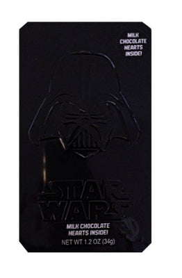 Star Wars Valentine Milk Chocolate with Hearts Inside Tin Gift