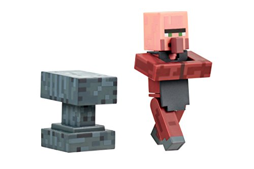 Minecraft Blacksmith Villager Figure Pack