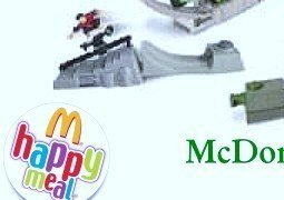 McDonalds Happy Meal Tony Hawk's Boomboom Huckjam 5 -0 Grind Toy #6 2004