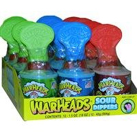 Impact Confections Warheads Sour Dippers 3 Flavors - 12ct Box
