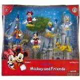 Disney Parks Mickey and Friends 6 pc. Figure Set PVC (Does Not Articulate) - Disney Parks Exclusive & Limited Availability