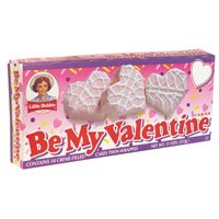 Little Debbie Be My Valentine Cakes 3-pack.
