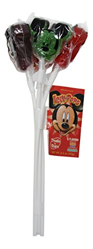 Disney Parks Mickey Mouse Lollipops 5 Pack