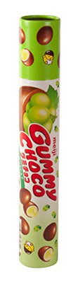 Meiji Gummy Choco Muscat, 2.86-Ounce Tubes (6 Pack)