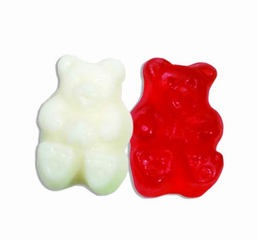 Albanese Valentine Bears (Red and White), 5-Pounds