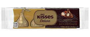 Hershey Kisses Deluxe Whole Roasted Hazelnut Center One Pack of 4 Kisses
