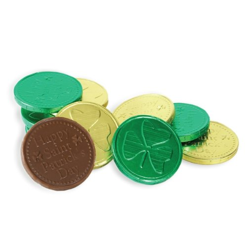 St. Patrick's Day Lucky Chocolate Coins