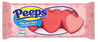 Sugar Free Heart Shaped Marshmallow Peeps