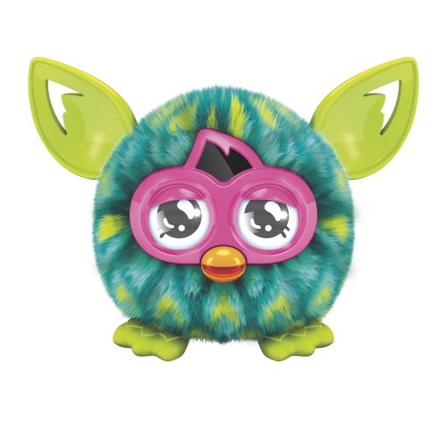 Furby Furbling Creature Peacock Feather Plush