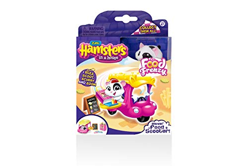 Hamsters in a House Food Frenzy - MOVIN' FOOD SCOOTER - PEPPER