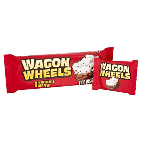 Burtons Wagon Wheels 220g (7.8oz)
