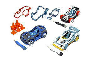 Modarri 3 Pack (S1,X1,T1) Build Your Car Kit Toy Set - Ultimate Toy Car: Make Your Own Car Toy - For Thousands of Designs - Real Steering and Suspension - Educational Take Apart Toy Vehicle