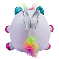 Rainbocorns Unicorn Plush Toy, White