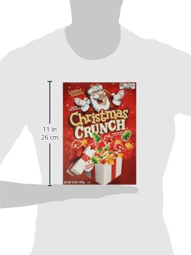Cap'n Crunch's Christmas Crunch Cereal, Limited Edition - One 13 oz Box