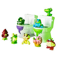 Flush Force Bathroom Collectible Figure Set