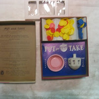 BoardGame Put & Take 1965 Release from Schaper