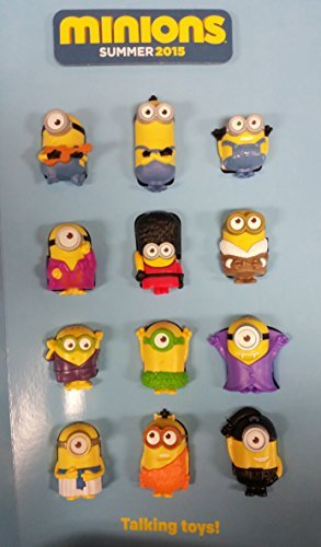 Mcdonalds 2015 Minions Complete Set of 12