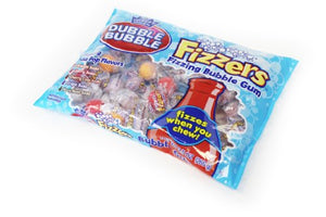 Dubble Bubble Fizzers Gumballs 9.5 OZ Bag