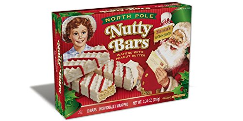 Little Debbie North Pole Nutty Bars 2 Pack