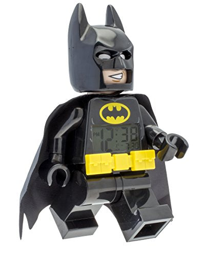 LEGO 9009327 Batman Movie Batman Minifigure Light Up Alarm Clock