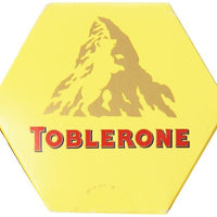 Toblerone Swiss Milk Chocolate with Honey and Almond Nougat,  6 - 100g Bars, Total Net Wt 600g