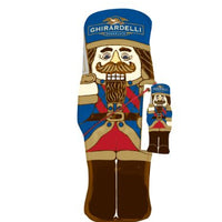 Ghirardelli Nutcracker Hollow Figure Gift, 4.5-Ounce