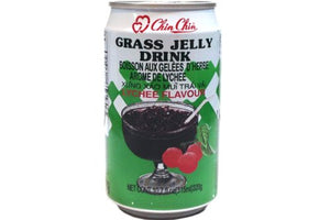 Chin Chin Grass Jelly Drink (Lychee, 3 Pack)