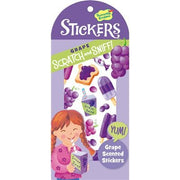 Peaceable Kingdom Grape Scented Scratch and Sniff Sticker Set