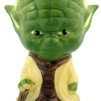 NEW Painted Rare STAR WARS Collectible Ceramic Mug Cup Gift Yoda Goblet 5 3/4""