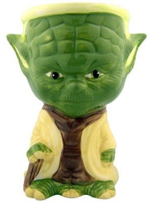 NEW Painted Rare STAR WARS Collectible Ceramic Mug Cup Gift Yoda Goblet 5 3/4