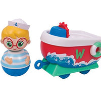 Weebles Winston & Boat Toy