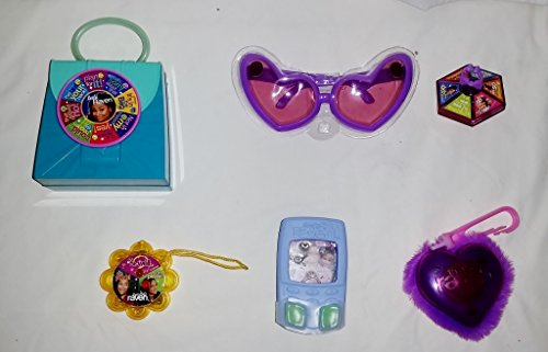 McDonalds - Complete THAT'S SO RAVEN Happy Meal Set - 2005