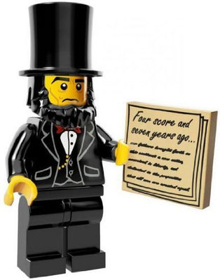 LEGO Minifigure Collection LEGO Movie Series LOOSE Abraham Lincoln