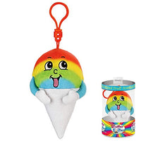 Whiffer Sniffers Willy B. Chilly Snowcone Scented Plush Backpack Clip