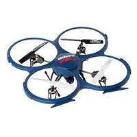 UDI U818A WiFi FPV RC Quadcopter Drone with HD Camera RTF - VR Headset Compatible - Headless Mode, Low Voltage Alarm, Gravity Induction - Includes BONUS BATTERY + Power Bank (Quadruples Flying Time) - FAA Registration NOT Required