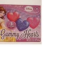 Disney Princess Heart Shaped Gummy Candy 2.45 oz