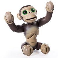 Zoomer Chimp, Interactive Chimp with Voice Command, Movement and Sensors by Spin Master