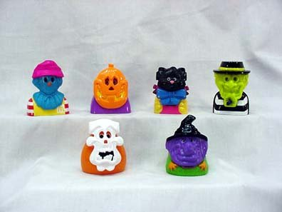 McDonalds - Haunted Halloween Happy Meal Set - 1998