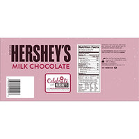 HERSHEY'S XOXO Chocolate, Milk Chocolate Candy Bar in Valentine's Day Packaging, 4 Ounce Bar