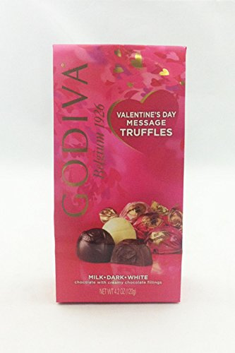 Godiva Chocolate 10890 Valentine's Day Message Truffles