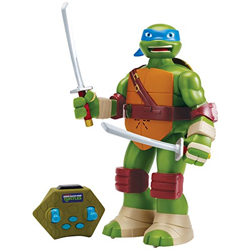 Teenage Mutant Ninja Turtles Leonardo Radio Control Action Figure, 13""