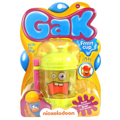 Nickelodeon Gak Frrrrt Cup - Spikes (Colors Vary)