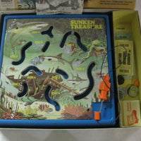 Milton Bradley Sunken Treasure Game Of Skill And Risk 1976