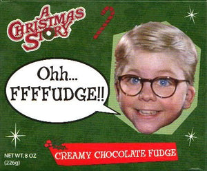 Ohh FFFFUDGE!! A Christmas Story Creamy Chocolate Fudge, 8Oz.
