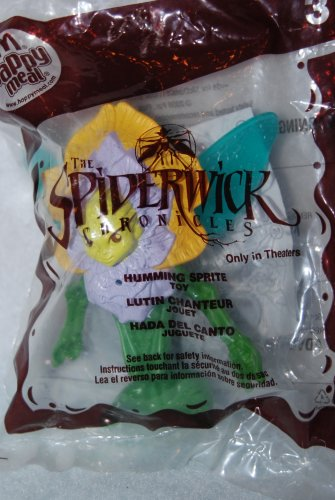 McDonalds Happy Meal 2008 The Spiderwick Chronicles Humming Spirit Toy #3
