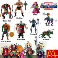 Mcdonalds (Complete Set of 8) Masters of the Universe