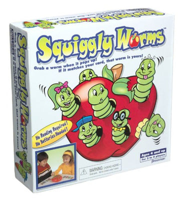 Pressman Squiggly Worms