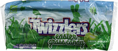Twizzlers Easter Grass Candy Green Apple 2 Pack 10.5 Oz Each