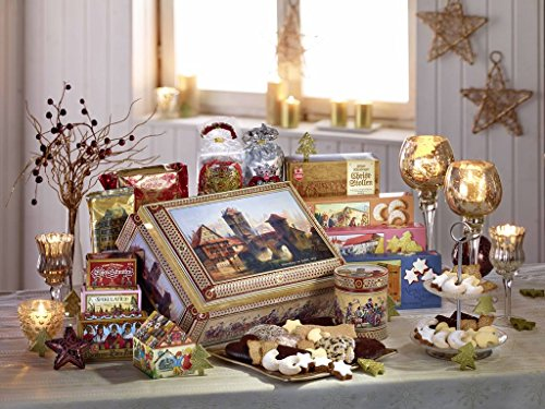 Lebkuchen Schmidt Festive Chest, 6.23-Pound Container
