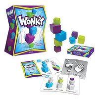 USAOPOLY Wonky: The Crazy Cubes Card Game